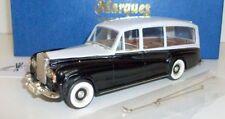Top Marques 1/43 Scale - RR14 - Rolls Royce Phantom V Hearse 1959 - Black / Grey