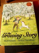 The Growing Story by Ruth Krauss- Illust Helen Oxenbury (Hardback)+ Height Chart