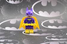 Lego Mini Figure The Batman Movie Batgirl with 2-Sided Head from Set 70917