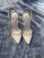 Womens Miss KG Sable Occasion Shoes Nude/light pink & Rose Gold Size 6