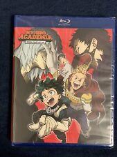 My Hero Academia: Season 4 Part 1 (Blu-ray + Dvd + Digital Copy, 2020). New!