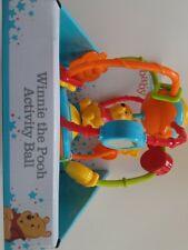 Disney Baby Winnie The Pooh Activity Ball,  6+ Months, New.