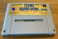 Super Famicom TECMO SUPER BOWL NFL FOOTBALL Nintendo Japan Import - U.S. Seller