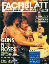 Fachblatt Musik Magazin 1991/08 (Guns ´N´ Roses)