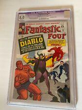 Fantastic Four #30 - VF (8.0) CGC - First Diablo - Stan Lee & Jack Kirby