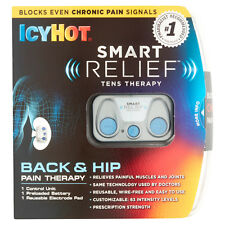 Icy Hot SMART RELIEF TENS THERAPY FOR BACK & HIP Pain Therapy PORTABLE EasyToUse