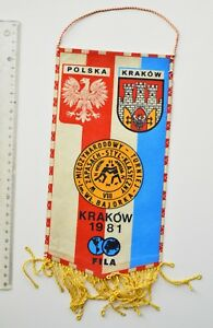 Poland Kraków International Wrestling Tournament 1981-FILA-Flag
