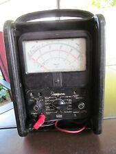 Vintage Simpson 260 Series 6 Analog Multi-Meter-Working Carry Case