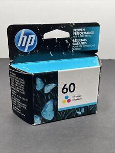HP 60 Tri-color Original Ink Cartridge CC643WN NEW EXP MAR 09/2019