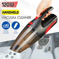 120W 5000Pa 3 attachment Car Vacuum Cleaner Dry Wet Handheld  2020NEW g y