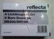 4Lichtklappen reflecta für Videoleuchten DR-300/DR-100 AkkuFilmleuchte,Fotolampe
