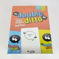 Double Ditto Family Board Game The Game Of Quick Thinking & Matching New Sealed