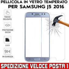 Pellicola in Vetro Temperato per Samsung Galaxy J5 2016 - Posta1pro