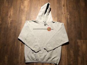 Santa Cruz Skateboards Hoodie Sweatshirt Gray Size XL Cotton Blend