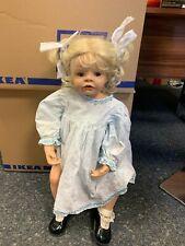 Monika Peter Leicht Künstlerpuppe Resin Puppe 68 cm. Top Zustand