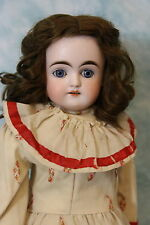 "20"" Antique German Bisque Turned Head Kestner Doll Alphabet Series,Plaster Pate"