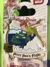 40th Anniversary Walt Disney World Attraction Collection Peter Pan's Flight Pin