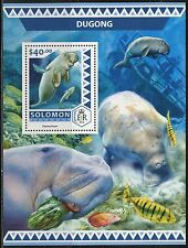 SOLOMON ISLANDS  2017  DUGONG  SOUVENIR SHEET MINT NH