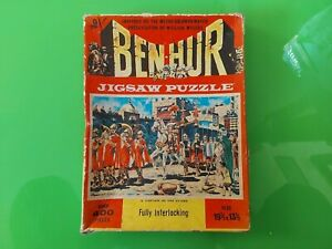 VINTAGE BEN HUR 400 PIECE JIGSAW PUZZLE - MGMs  CAPTAIN OF THE GUARD