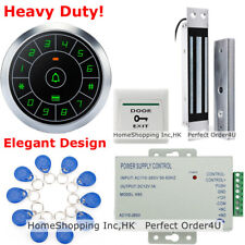 USA Waterproof RFID Card+Password Door Access Control System+DC12V Magnetic Lock