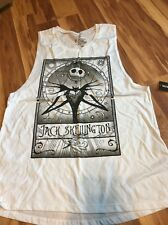 Nwt Disney Nightmare Before Christmas Sleeveless Shirt Women's Sz Xl