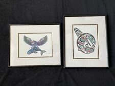"Framed British Columbia Art Prints ""The Thunderbird and Killerwhale""  Joe Wilson"