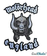 PARCHE TEXTIL 3 PIEZAS EXTRA GRANDE EMBROIDERY IRON PATCH EXTRA LARGE MOTORHEAD