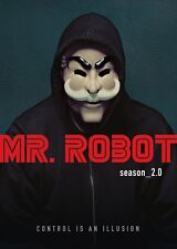 Mr. Robot Second Season 2 Two (DVD 2017 4-Disc Set) Rami Malek, Christian Slater