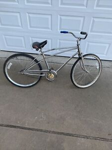 """Vintage Sears Spaceliner 26"""" Chrome Bicycle Used Restoration Project Pickup Only"""