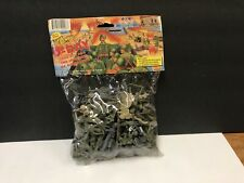 BMC WW2 D-DAY Plastic Army Figures 54mm New In Bag