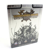 Warhammer Online: Age of Reckoning Steelbook for PC DVD-ROM, Sealed