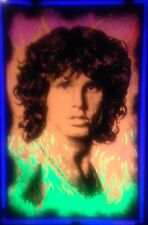 Jim Morrison Blacklight My Fire Vintage Poster