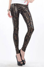 PunkJewelry Fashion Tattoo Leggings SCHLANGEN Look EINHEITSGRÖSSE