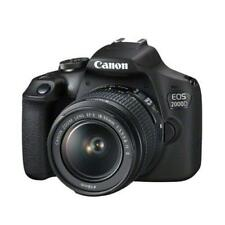 Canon EOS 2000D 24.1MP DSLR Camera & EF-S 18-55mm f/3.5-5.6 IS II Lens Kit