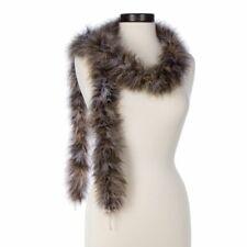 Camel Brown Black and White Mixed 25 Gram Marabou Feather Boas
