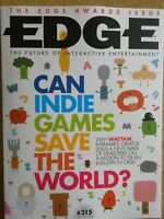 Edge magazine The Edge awards issue