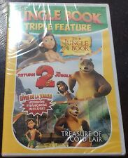 The jungle book triple feature dvd brand new English & francais & spanish