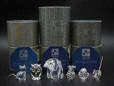 6 Swarovski Crystal Assorted Figurines ~ Mint In Boxes ~ Sc Block Trademark
