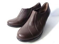 DANSKO 3400450200 EUR 39 US 8.5M 9M Nutmeg brown leather slip on booties shoes