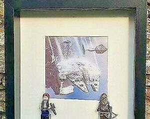 Superhero Frames-Star Wars- Hans Solo and Chewbacca