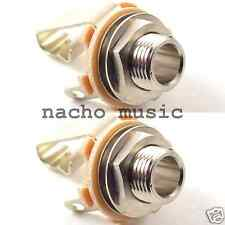 "2 Pieces Switchcraft 12B 1/4"" Stereo Jack (2 pack)"