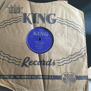 78rpm JUKEBOX Record R&B Cherokee Boogie MOOSE JACKSON King 4472 Sleeve