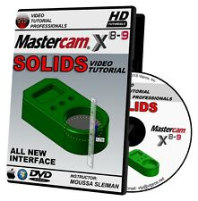 MASTERCAM X8-X9 SOLIDS Video Tutorial 720P HD QUALITY Training Course