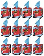 "Kimberly-Clark 75190 Scott Shop Towels, 10"" x 12"", Blue color (1 Box of 200)"