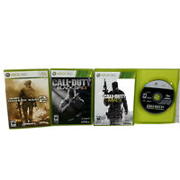 Xbox 360 Call of Duty Black OPS 2,MWarfare 2,3,4 Lot of 4