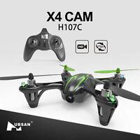 Hubsan H107C X4 2.4G Mini Pocket RC Quadcopter Drone W/ 720P HD Camera LED RTF