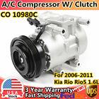 For Kia Rio Rio5 2006 2007 2008 2009 2010 2011 AC Compressor & A/C Clutch 97371