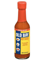 Brand New Sealed Limited Edition Old Bay Hot Sauce 5 OZ BOTTLE FREE SHIPPING