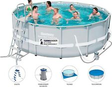 PISCINA POWER STEEL CON TELAIO  DIAM. CM.427X122H BESTWAY 56444