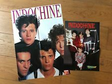 INDOCHINE - LOT DE 2 POSTERS
